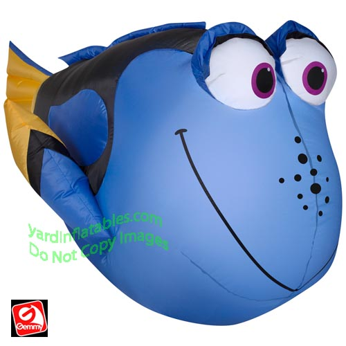 3 1/2' Gemmy Airblown Inflatable Dory From