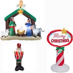 Nativity/Nutcrackers/Signs