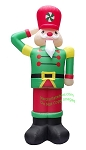12' Air Blown Inflatable Nutcracker Soldier