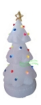 6' LED White Color Changing Christmas Tree