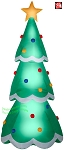 14' Gemmy Airblown Inflatable Colossal Christmas Tree