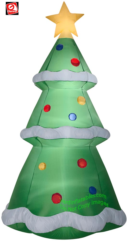 10' Gemmy Airblown Inflatable Giant Christmas Tree
