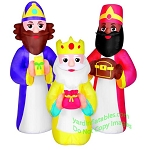 5 1/2' Inflatable Three Kings