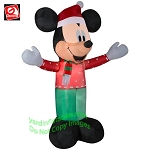 6' Mickey Mouse Christmas Party Outfit