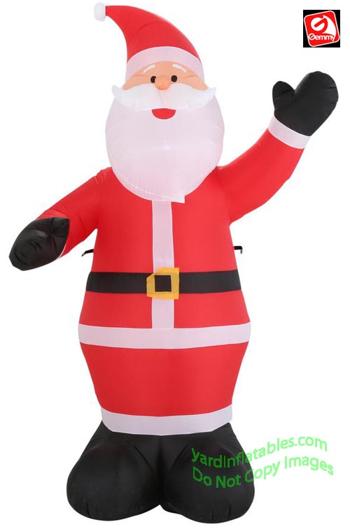 9' Gemmy Airblown Inflatable Christmas Santa Claus