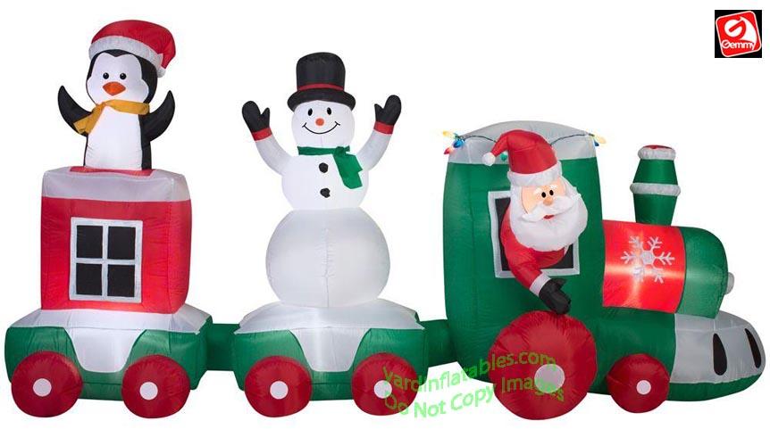 Christmas Train.11 Santa Christmas Train Scene