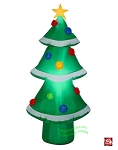 4' Airblown Inflatable Green Christmas Tree