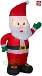 4' Gemmy AirBlown Inflatable Santa Claus