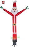 12' Gemmy Airblown Inflatable JIGGLER Christmas Jolly Santa Claus