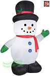 5' Gemmy Airblown Inflatable Christmas Snowman