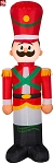 4' Gemmy Airblown Inflatable Christmas Toy Soldier
