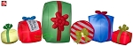 9' Gemmy Airblown Inflatable Christmas Present Collection