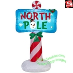 3 1/2' North Pole Sign