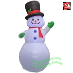 9' Gemmy Airblown Inflatable Christmas Snowman