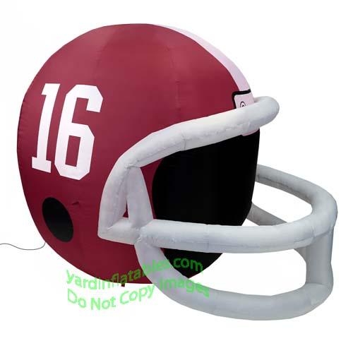 the best attitude 96b9a 04fd1 4' NCAA Alabama Crimson Tide Football Inflatable Helmet