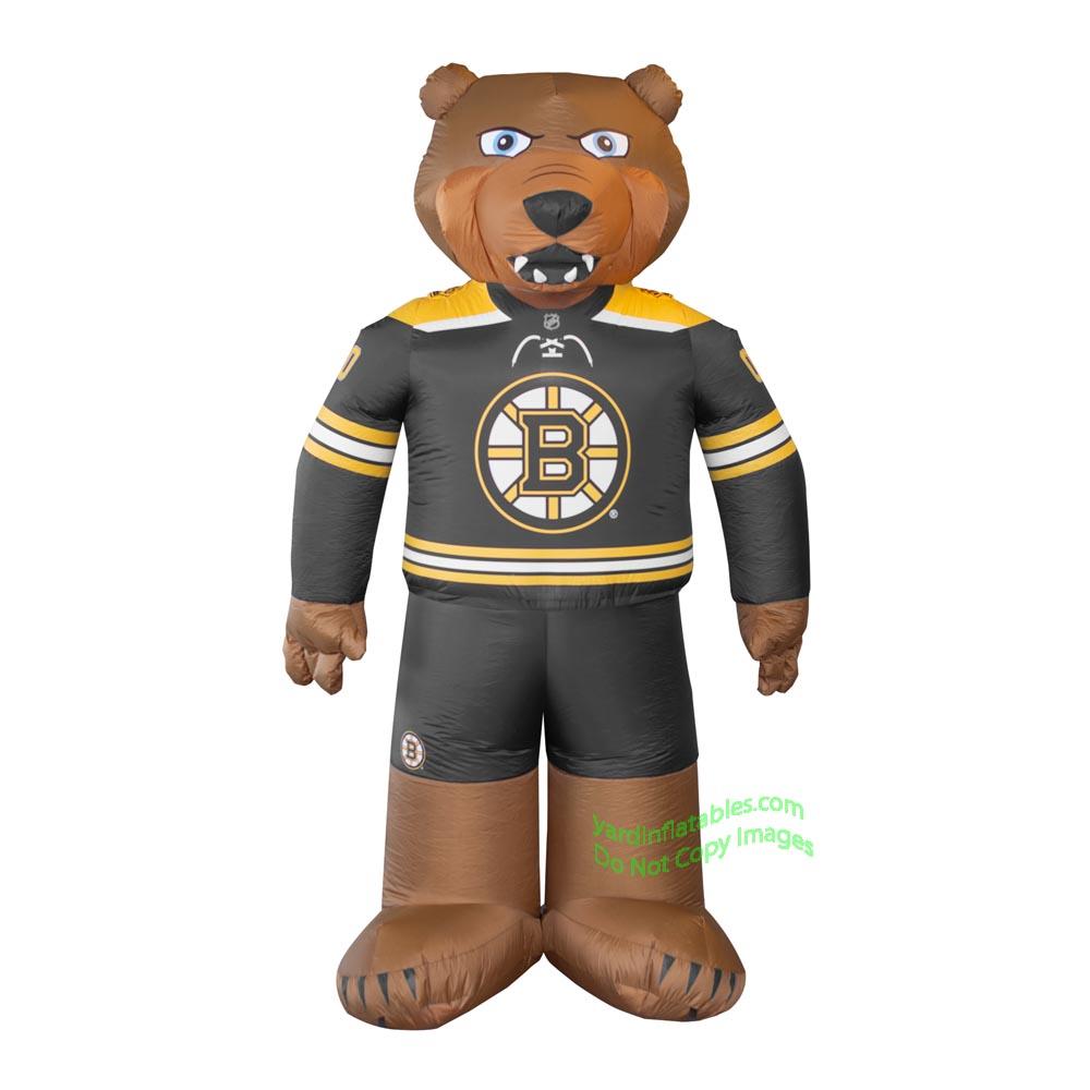 7 Air Blown Inflatable Nhl Boston Bruins Blades Mascot