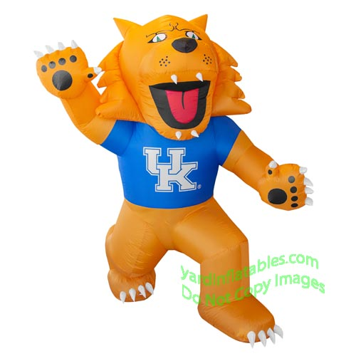 7' NCAA Inflatable Kentucky Wildcats Mascot