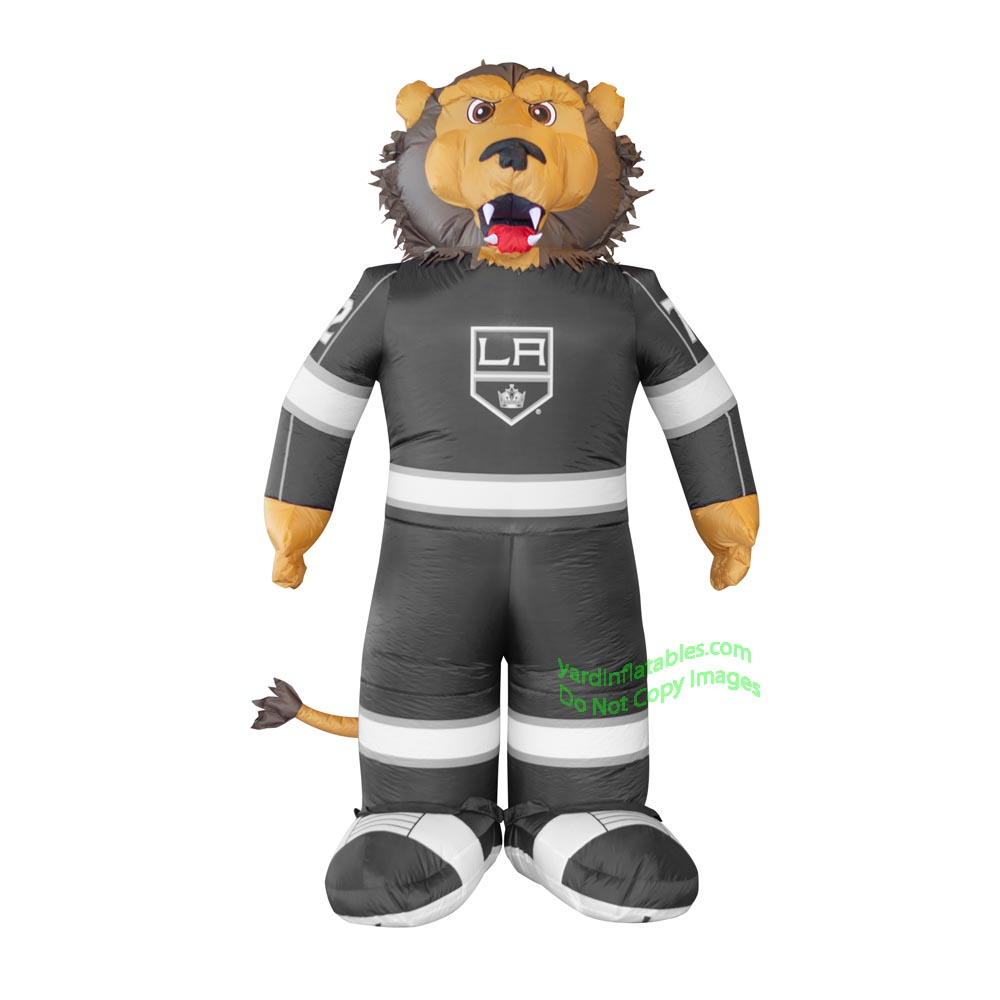 7' Air Blown Inflatable NHL Los Angeles Kings Bailey Mascot