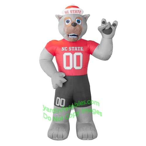 7' Air Blown Inflatable NCAA North Carolina State WolfPack Tuffy Mascot
