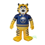 7' Air Blown Inflatable NHL Buffalo Sabres Sabretooth Mascot