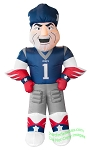 7' NFL Inflatable New England Patriots Pat Patriot Mascot