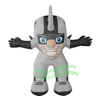7' Air Blown Inflatable NFL Oakland Raiders Raider Rusher Mascot