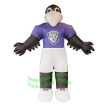 7' Air Blown Inflatable NFL Baltimore Ravens Poe Mascot
