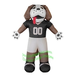 7' Air Blown Inflatable NFL New Orleans Saints Gumbo Mascot