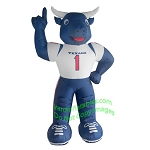 7' Air Blown Inflatable NFL Houston Texans Toro Mascot