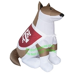 7' Air Blown Inflatable NCAA Texas A&M Aggies Reveille Mascot