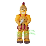 7' NCAA Air Blown Inflatable University of Southern California Traveler Mascot