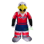 7' Air Blown Inflatable NHL Washington Capitals Slapshot Mascot