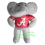 7' NCAA Inflatable Alabama Big Al Mascot