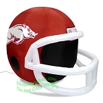 4' NCAA Arkansas Razorbacks Football Inflatable Helmet