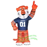 7' NCAA Inflatable Auburn Aubie Mascot