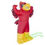 7' NCAA Inflatable Louisville Cardinals Mascot