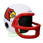 4' NCAA Louisville Cardinals Football Inflatable Helmet