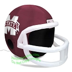 4' NCAA Mississippi State Bulldogs Football Inflatable Helmet