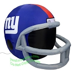4' NFL New York Giants Football Inflatable Helmet