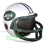 4' NFL New York Jets Football Inflatable Helmet