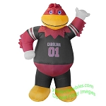 7' NCAA Inflatable South Carolina Gamecocks Cocky Mascot