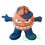 7' NCAA Inflatable Syracuse Oranges Otto Mascot