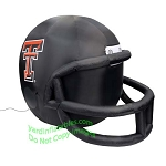 4' NCAA Texas Tech Red Raiders Football Inflatable Helmet