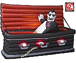 5 1/2' Gemmy Airblown Animated Inflatable Vampire from Rising Coffin ORIGINAL!!