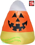 3 1/2' Gemmy Airblown Inflatable Halloween Candy Corn