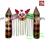 12' Scary Clown Archway