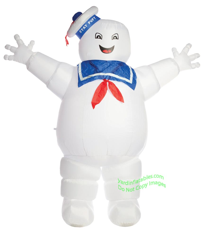 8' Air Blown Inflatable Ghostbusters Stay Puft Marshmallow Man