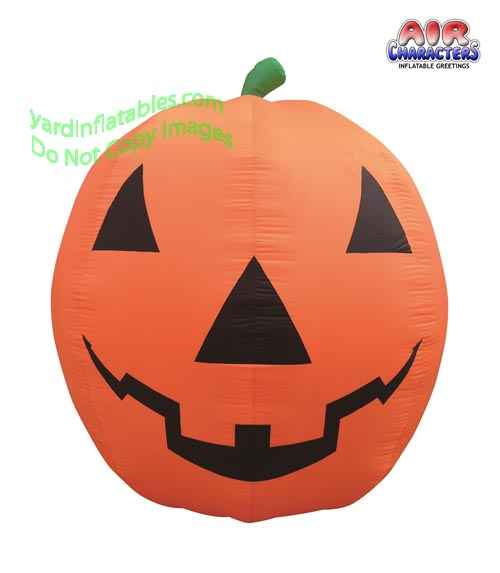 8 1/2' Air Blown Inflatable Giant Pumpkin Jack-O-Lantern