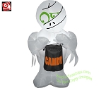 3 1/2' Mummy Holding Candy Bag
