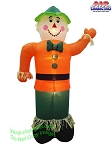 7' Inflatable Scarecrow